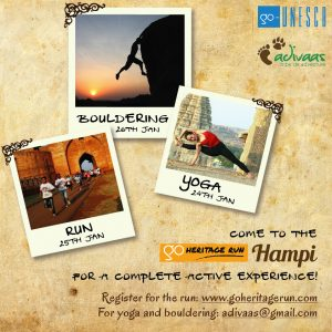 Go Heritage Run - Active Hampi