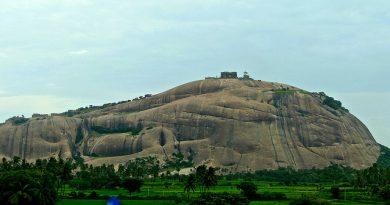 Bhongir hill fort