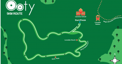 All you need to know about your Ooty run routes