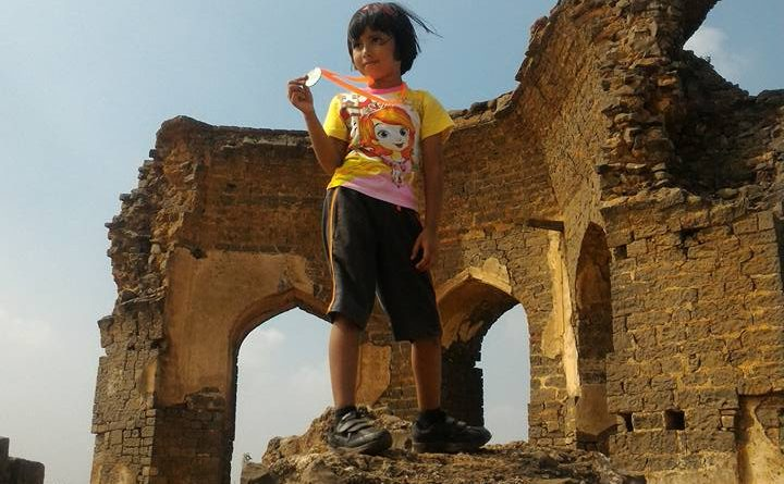 Tiny Tot at Go Heritage Run – Bidar