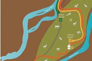 orchha run routes