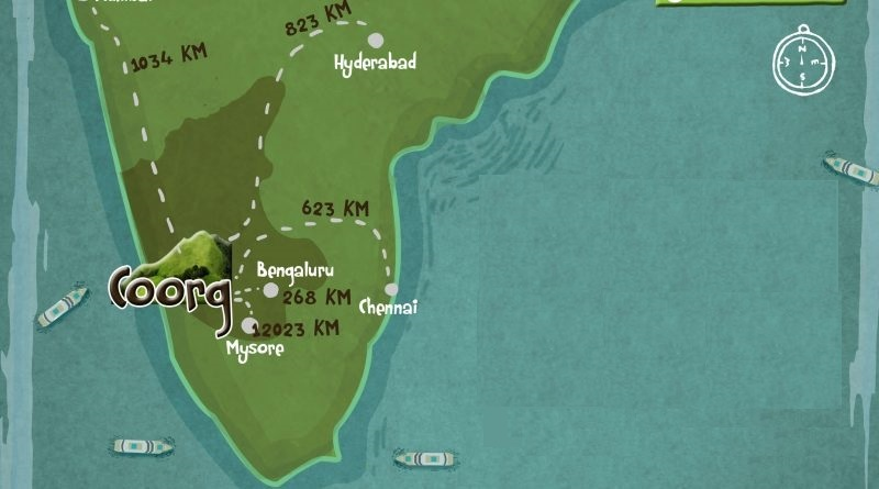 coorg-location-map