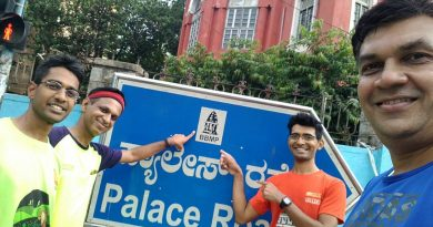 BBMP Sign on Route